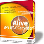 Alive MP3 WAV Converter Features