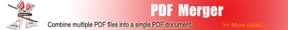 Alive PDF Merger - Combine multiple PDF files into one single PDF document.
